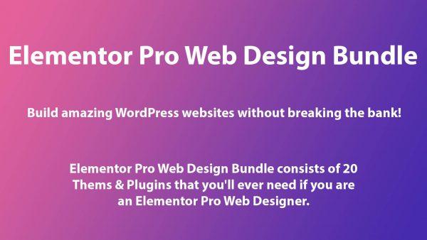 Elementor Pro Web Design Bundle