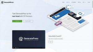 GeneratePress Premium + License Key