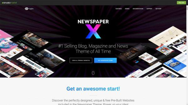 Download Newspaper X Theme
