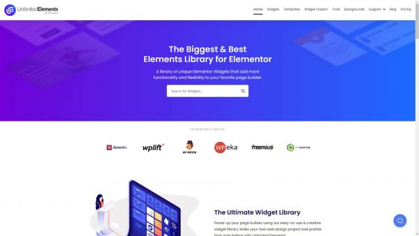 Unlimited Elements for Elementor Premium GPL Download