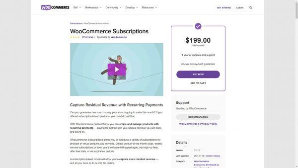 WooCommerce Subscriptions GPL Download