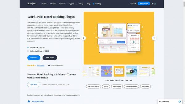 MotoPress Hotel Booking GPL Download