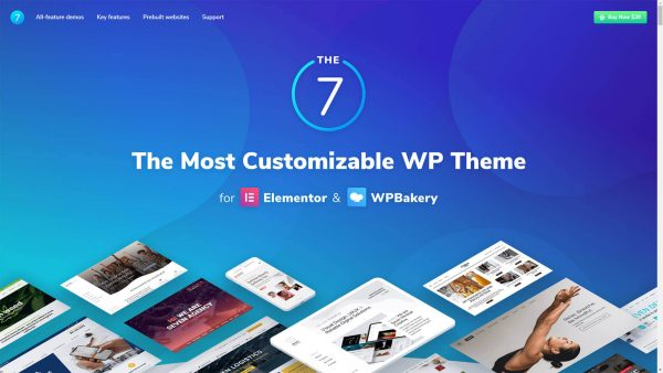The7 Theme GPL Download